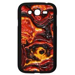 Lava Active Volcano Nature Samsung Galaxy Grand DUOS I9082 Case (Black) Front