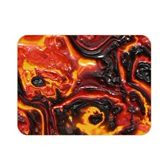 Lava Active Volcano Nature Double Sided Flano Blanket (mini)  by Alisyart