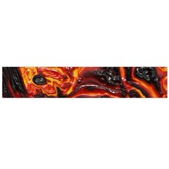 Lava Active Volcano Nature Large Flano Scarf
