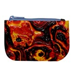 Lava Active Volcano Nature Large Coin Purse Front