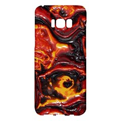 Lava Active Volcano Nature Samsung Galaxy S8 Plus Hardshell Case