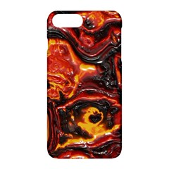Lava Active Volcano Nature Apple Iphone 8 Plus Hardshell Case by Alisyart