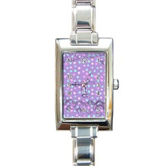 Little Face Rectangle Italian Charm Watch