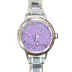 Little Face Round Italian Charm Watch