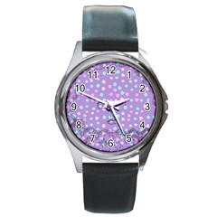 Little Face Round Metal Watch