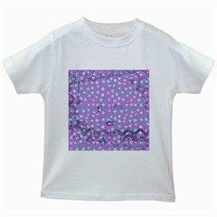 Little Face Kids White T-Shirts