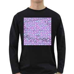 Little Face Long Sleeve Dark T-Shirts