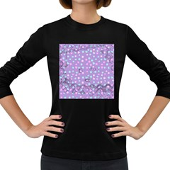 Little Face Women s Long Sleeve Dark T-Shirts