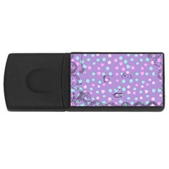 Little Face Rectangular USB Flash Drive