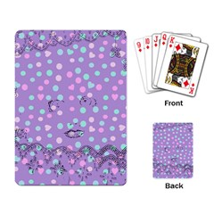 Little Face Playing Card