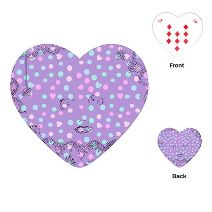 Little Face Playing Cards (Heart)