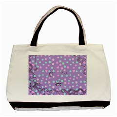 Little Face Basic Tote Bag