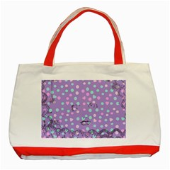 Little Face Classic Tote Bag (Red)