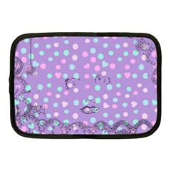 Little Face Netbook Case (Medium)