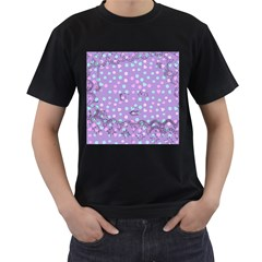 Little Face Men s T-Shirt (Black)