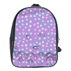 Little Face School Bag (Large)