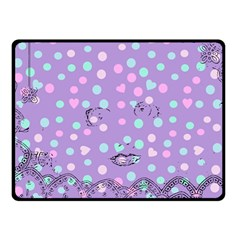 Little Face Fleece Blanket (Small)