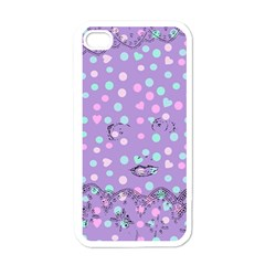 Little Face Apple iPhone 4 Case (White)