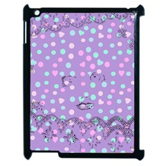 Little Face Apple iPad 2 Case (Black)
