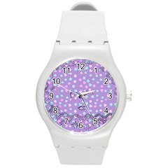 Little Face Round Plastic Sport Watch (M)