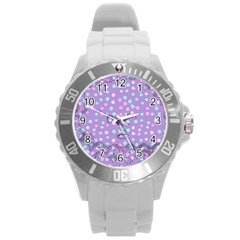 Little Face Round Plastic Sport Watch (L)