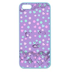 Little Face Apple Seamless iPhone 5 Case (Color)