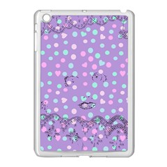 Little Face Apple iPad Mini Case (White)