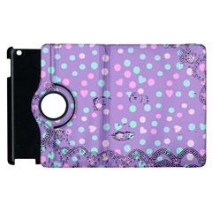 Little Face Apple iPad 3/4 Flip 360 Case