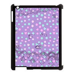 Little Face Apple iPad 3/4 Case (Black)
