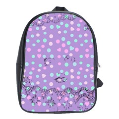 Little Face School Bag (XL)