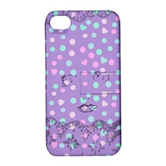 Little Face Apple iPhone 4/4S Hardshell Case with Stand