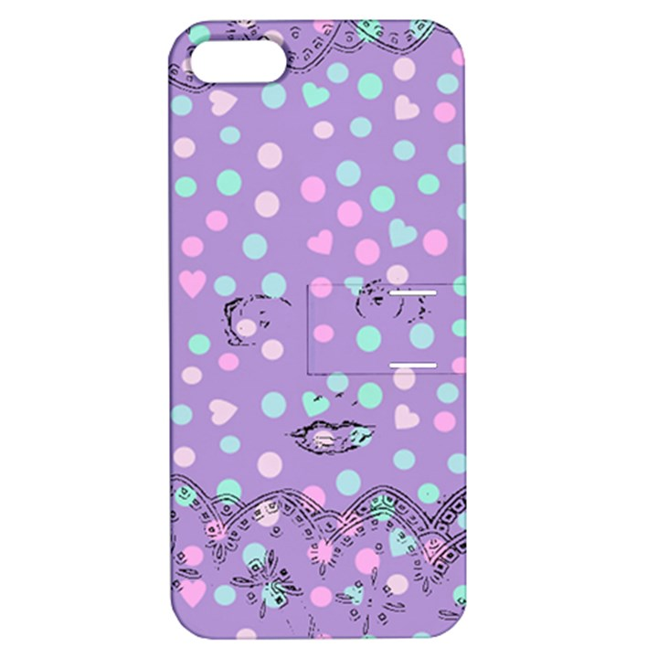 Little Face Apple iPhone 5 Hardshell Case with Stand