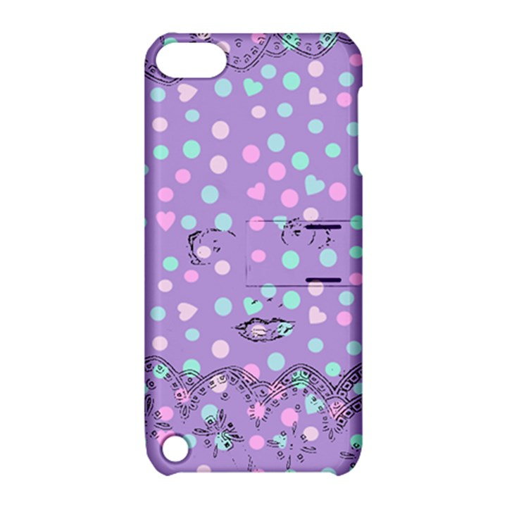 Little Face Apple iPod Touch 5 Hardshell Case with Stand