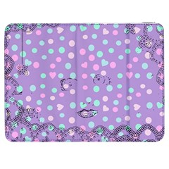 Little Face Samsung Galaxy Tab 7  P1000 Flip Case