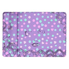 Little Face Samsung Galaxy Tab 10.1  P7500 Flip Case