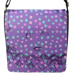 Little Face Flap Messenger Bag (S)