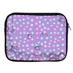 Little Face Apple iPad 2/3/4 Zipper Cases