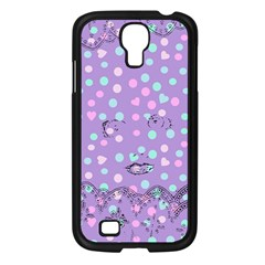 Little Face Samsung Galaxy S4 I9500/ I9505 Case (Black)