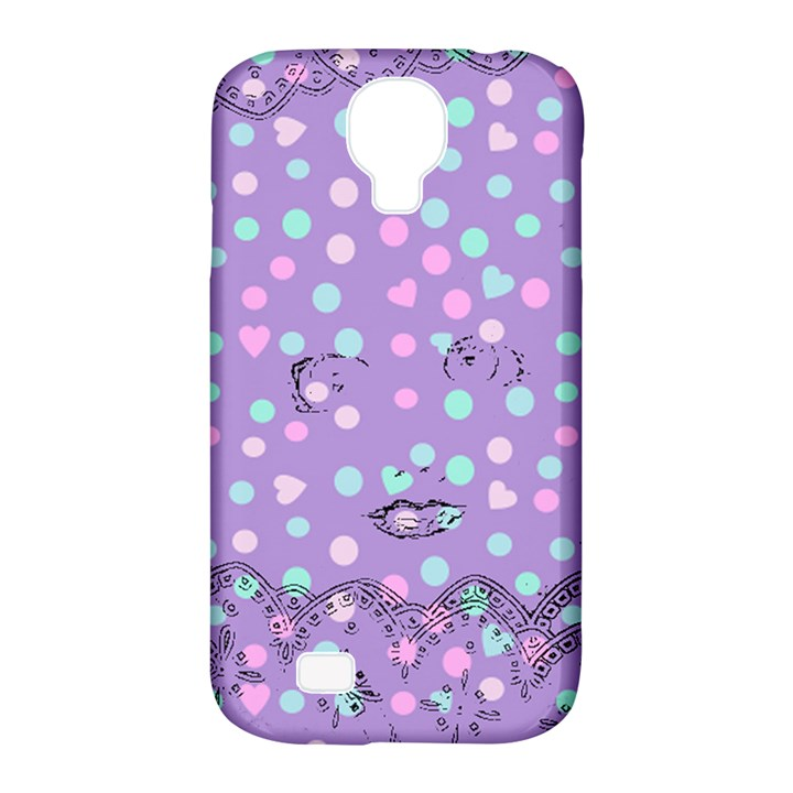 Little Face Samsung Galaxy S4 Classic Hardshell Case (PC+Silicone)