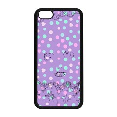Little Face Apple iPhone 5C Seamless Case (Black)
