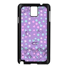 Little Face Samsung Galaxy Note 3 N9005 Case (Black)