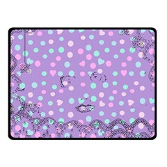 Little Face Double Sided Fleece Blanket (Small)