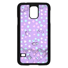 Little Face Samsung Galaxy S5 Case (Black)