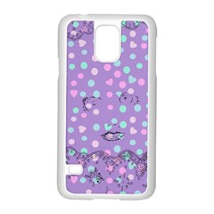 Little Face Samsung Galaxy S5 Case (White)