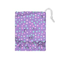Little Face Drawstring Pouches (Medium)