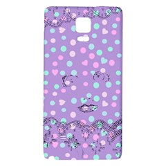 Little Face Galaxy Note 4 Back Case