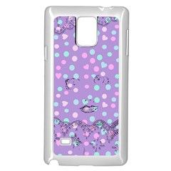 Little Face Samsung Galaxy Note 4 Case (White)