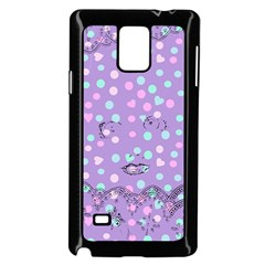 Little Face Samsung Galaxy Note 4 Case (Black)