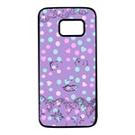 Little Face Samsung Galaxy S7 Black Seamless Case Front
