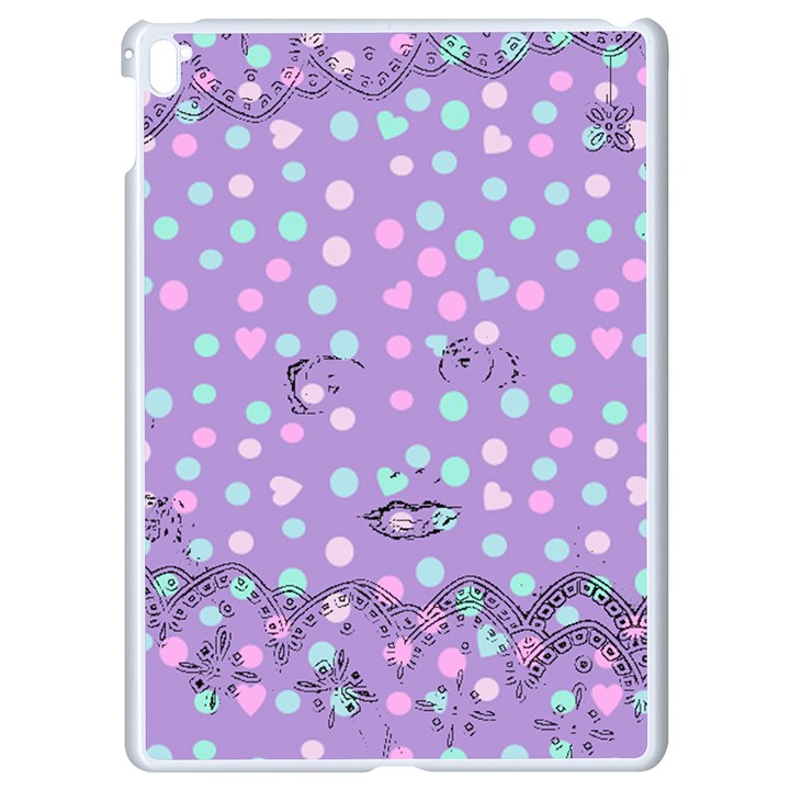 Little Face Apple iPad Pro 9.7   White Seamless Case